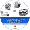 Thumbnail DETROIT DIESEL SERIES 92 ENGINES V6 V8 12 16 CYLINDER MANUAL