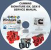 Thumbnail CUMINS ENGINES SIGNATURE ISX, QSX15 SERVICE REPAIR MANUAL