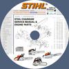 Thumbnail STIHL CHAINSAW SERVICE REPAIR MANUALS & ENGINE PARTS CATALOG