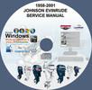 Thumbnail Johnson Evinrude Outboard Manual 1958-2001 1-300 hp