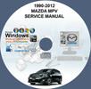 Thumbnail MAZDA MPV 1990-2012 1ST & 2ND GEN SERVICE REPAIR MANUAL