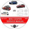 Thumbnail MINI COOPER, S & CONVERTIBLE SERVICE REPAIR MANUAL 2007-2010
