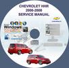 Thumbnail CHEVROLET HHR SERVICE REPAIR MANUAL